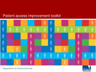 Patient access  improvement  toolkit