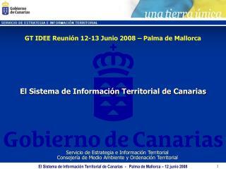 El Sistema de Informaci n Territorial de Canarias