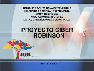 PROYECTO CIBER ROBINSON