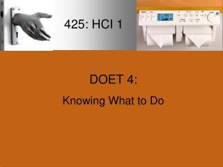 425: HCI 1