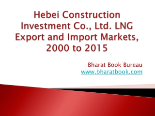 Hebei Construction Investment Co., Ltd. LNG Export and Import Markets, 2000 to 2015