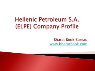 Hellenic Petroleum S.A. (ELPE) Company Profile