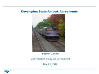 Developing State-Amtrak Agreements