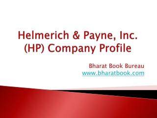 Helmerich & Payne, Inc. (HP) Company Profile