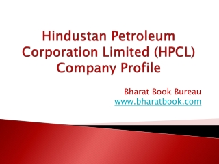 Hindustan Petroleum Corporation Limited (HPCL) Company Profile