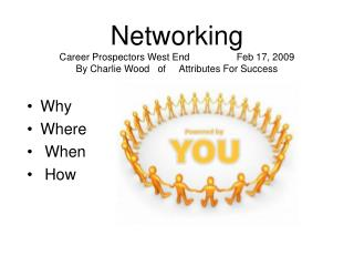 Networking  Career Prospectors West End  Feb 17, 2009 By Charlie Wood   of     Attributes For Success