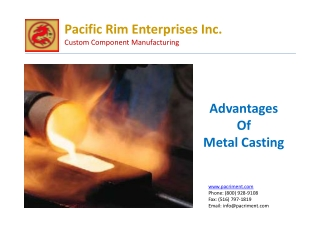 Advantages Of Metal Casting – Pacriment