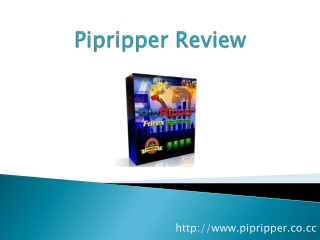 Pipripper Review - How Pipripper Helps You To Make Money!