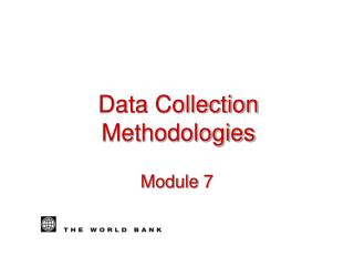 Data Collection Methodologies