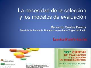 La necesidad de la selecci n  y los modelos de evaluaci n