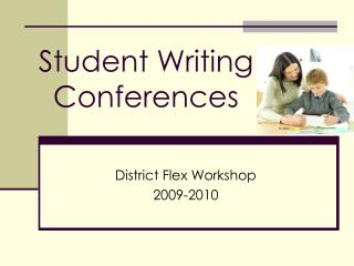 Student Writing  Conferences