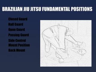 Brazilian Jiu Jitsu Fundamental Positions