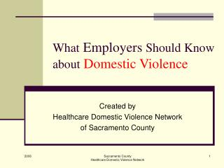 What Employers Should Know about Domestic Violence
