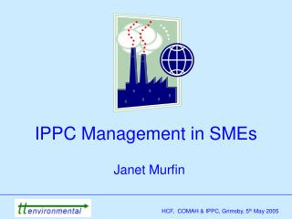 IPPC Management in SMEs