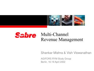 Multi-Channel Revenue Management