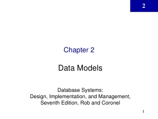 Web Database Development   Database Systems:  Design, Implementation, and Management, Sixth Edition, Rob and Coronel