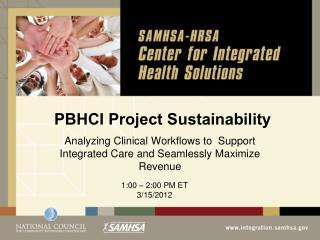 PBHCI Project Sustainability
