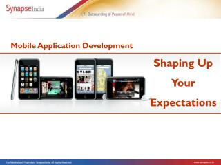 SynapseIndia - Mobile Application Development