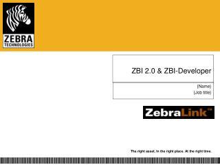 ZBI 2.0  ZBI-Developer