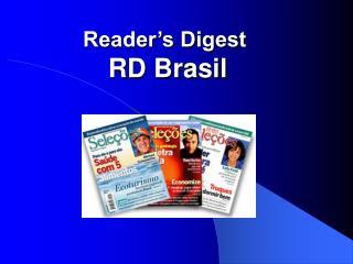Reader s Digest  RD Brasil