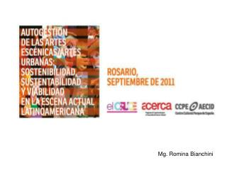 Mg. Romina Bianchini