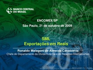 SML Exporta  es em Reais
