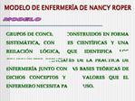 MODELO DE ENFERMER A DE NANCY ROPER