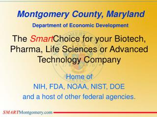 The SmartChoice for your Biotech, Pharma, Life Sciences or Advanced Technology Company