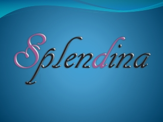 Splendina 100% Natural Cosmeceuticals