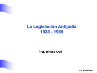 Prof. Yehuda Krell