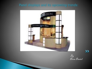 Panel displays and its upcoming trends
