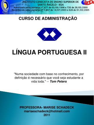 CURSO DE ADMINISTRA  O