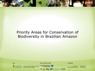 Priority Areas for Conservation of Biodiversity in Brazilian Amazon