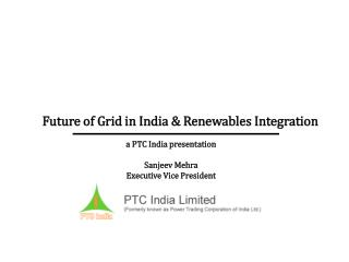 Future of Grid in India  Renewables Integration