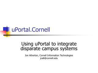 UPortal.Cornell