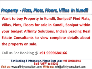 Call @09999684166 to Book Flats, Buy Flat in Kundli Sonepat