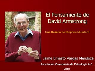 El Pensamiento de David Armstrong  Una Rese a de Stephen Mumford
