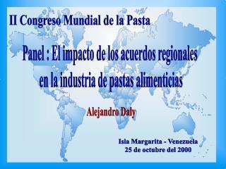 II Congreso Mundial de la Pasta