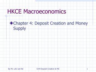 HKCE Macroeconomics