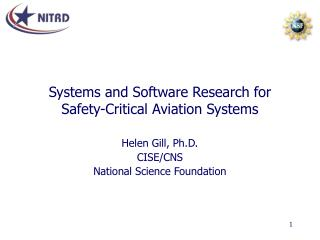 Systems and Software Research for Safety-Critical Aviation Systems