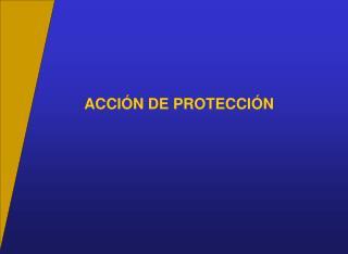 ACCI N DE PROTECCI N
