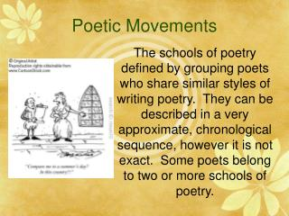 Poetic Movements
