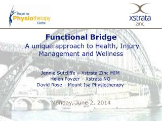 Functional Bridge   A unique approach to Health, Injury Management and Wellness