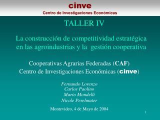 La construcci n de competitividad estrat gica en las agroindustrias y la  gesti n cooperativa