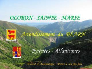OLORON - SAINTE - MARIE