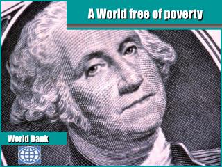 A World free of poverty