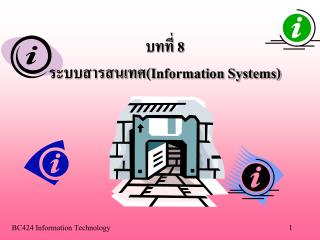 8 Information Systems