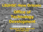 LSUHSC-New Orleans