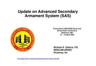 Providing America Advanced Armaments for Peace and War