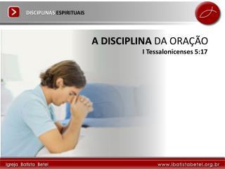 DISCIPLINAS ESPIRITUAIS